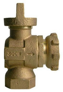A.Y. McDonald 5/8 in. FNPT Yoke Angle Valve M74644BYFE02