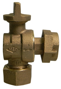 A.Y. McDonald CTS x Meter Light Weight Angle Valve M74602BTK