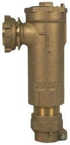 A.Y. McDonald 7112-3YQ 3/4 x 1 in. Meter x CTS Angle Dual Check Backflow Preventer M71123Y234