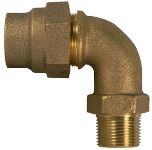 A.Y. McDonald Flared x MNPT Water Service Brass Bend M74779MGF