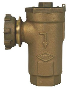 A.Y. McDonald Meter x FNPT Angle DU Check Backflow Preventer M7123YE