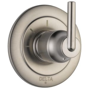 Delta Faucet Trinsic® Tub and Shower Diverter Valve with Single Lever Handle DT11859