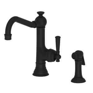 Newport Brass Jacobean 1.8 gpm 2-Hole Kitchen Sink Faucet with Single Lever Handle N2470-5313