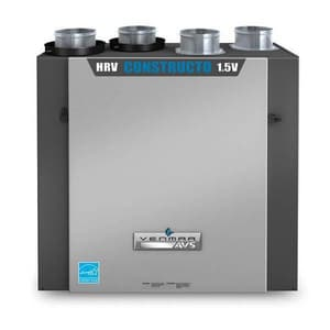 Venmar Ventilation 1.5 Constructo Heat Recovery Ventilator V1601702