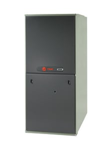 Trane XR95 Series 17-1/2 in. 77000 BTU 95% AFUE 3.5 Ton Single-Stage Upflow and Horizontal Left 1/2 hp Natural or LP Gas Furnace TTUH1B080A9421B