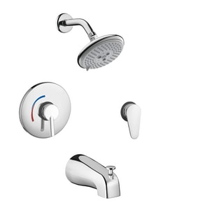 Hansgrohe Focus™ Tub and Shower Pressure Rough-In Valve Trim H04465