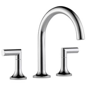 Delta Faucet Odin® 3-Hole Roman Tub Faucet with Double Lever Handle (Trim Only) DT67375