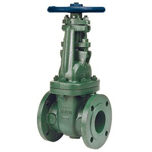 Nibco Ductile Iron Flanged Bolted Bonnet Outside Stem and Yoke Gate Valve NF63733