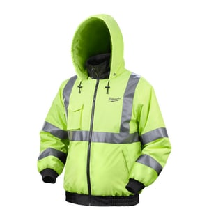 Milwaukee M12™ Cordless High Visibility Heated Jacket in Yellow M2346