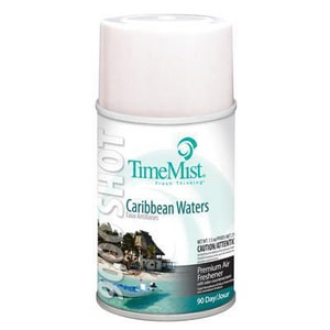 Timemist Caribbean Waters Fragrance Metered Air Freshener Refill TMS33644TMCA
