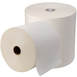 SofPull® 1000 ft. Non-Perforated Hard Roll Towel in White (Case of 12) G26470