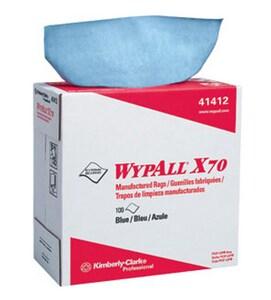 Kimberly Clark WypAll® X70 16-4/5 x 9-1/10 in. Pop-Up Wipes Box in Blue K41412