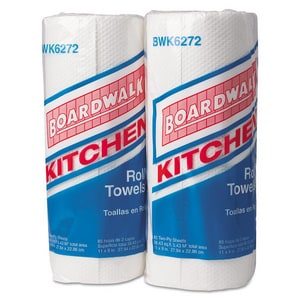 Boardwalk 2-Ply Kitchen Towel Roll (Case of 30) BWK6272