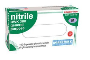 Boardwalk Disposable General Purpose Nitrile Gloves BWK380