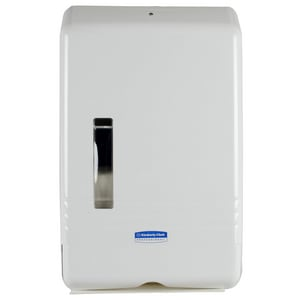 Kimberly Clark Slimfold® Slimfold Towel Dispenser in White K06904