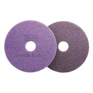 Scotch-Brite™ Diamond Floor Pad Plus in Purple 3M134375479