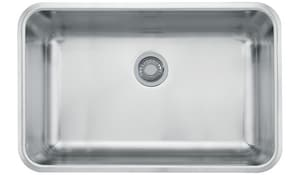 Franke Consumer Products Grande 28 x 17 x 9 in. Single Bowl Kitchen Sink FGDX11028