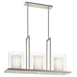 Kichler Lighting Traid 50W 3-Light Medium Chandelier KK42548CLP
