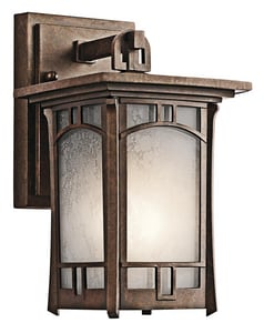 Kichler Lighting Soria™ 75W 1-Light Outdoor Wall Lantern KK49449