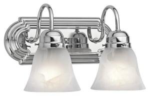 Kichler Lighting Timeless 2-Light Bath Light KK5336