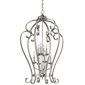 Kichler Lighting Monroe™ 8-Light Cage Foyer Pendant KK43167