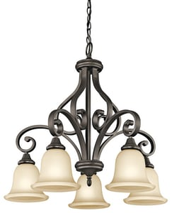 Kichler Lighting Monroe™ 100W 5-Light Medium Chandelier KK43158