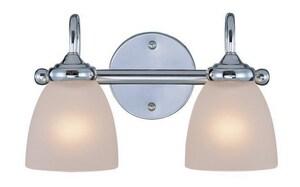 Craftmade International Spencer 100W 2-Light Medium E-26 Base Incandescent Bath Light C26102