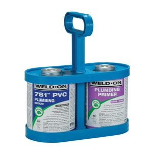 Weld-On 1 qt. PVC Medium Low Volatile Organic Compound Clear Cement I14006
