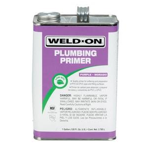 Weld-On 1 gal. PVC CPVC Plumbing Primer in Purple I14024