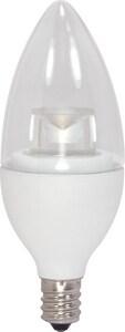 Satco 120V Candelabra LED Bulb SS8996