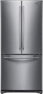Samsung Electronics 18 in. French Door Refrigerator in Stainless Steel SRF197ACRS