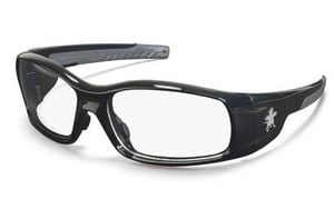 Crews Swagger® Black Frame Safety Glasses CSR11