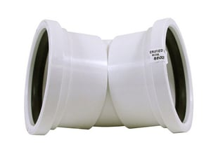 Gasket PVC Sewer 45 Degree Elbow MUL06350