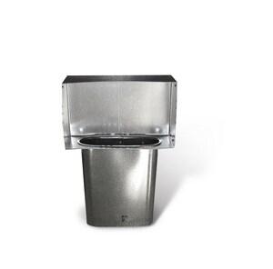 Lukjan Metal Products 10 in. Galvanized Steel Register Head SHMOSH10