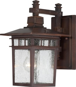 Nuvo Lighting Cove Neck 1-Light Outdoor Lantern N604952