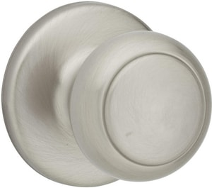 Kwikset Cove® Passage or Hall or Closet Knob K200CV6ALRCS
