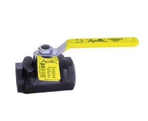 Apollo Conbraco 2000psig FNPT Threaded Carbon Steel Standard Port Ball Valve with Graphite Latch A73A142427A