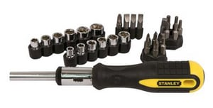 Stanley 29-Piece Ratchet Screwdriver STA54925