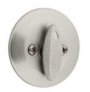 Kwikset Single Sided Deadbolt with Thumbturn K66315CPRCLRCS