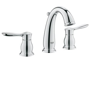 Grohe Parkfield™ Widespread Lavatory Faucet with Double Lever Handle G20390