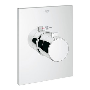 Grohe Grohtherm® Thermostatic Trim with Temperature Control Module in Starlight Polished Chrome G27620000