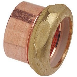 Drainage Waste and Vent Copper x Slip Joint Trap Adapter CDWVSJTA