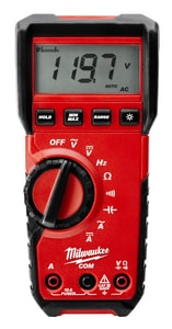 Milwaukee 10A Digital Multimeter M221620