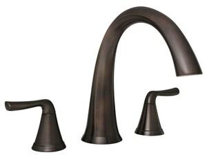 3 Piece Faucet : Mirabelle? Provincetown? 2-Handle 3-Piece Roman Tub Faucet Faucet ...