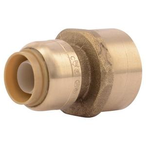 Sharkbite Push x FNPT Brass Reducing Connector SU0LF