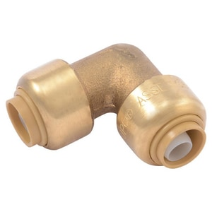 Sharkbite Brass Standard Radius Push 90 Degree Elbow SU24