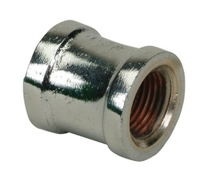 PROFLO Chrome Plated Brass Compression Coupling PFXCHC
