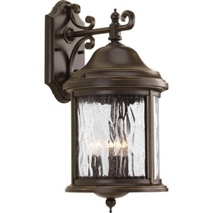 Progress Lighting Ashmore 16-1/2 in. 60W 3-Light Wall Lantern PP5650