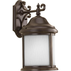 Progress Lighting Ashmore 26W 1-Light GU24 Wall Lantern in Antique Bronze PP587520WB