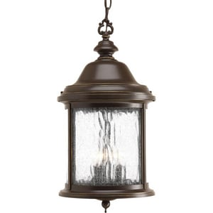 Progress Lighting Ashmore 3 Light 60W Outdoor Candelabra Hanging Lantern PP5550